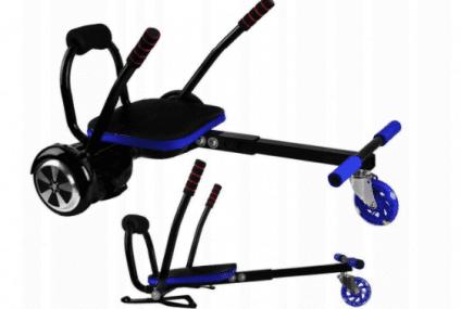 Noul dispozitiv care animă copiii şi adulţii şi transformă hoverboardul într-un mijloc de distracţie sigur – hoverkart!